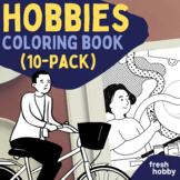 Hobby Coloring Pages for Young Adults (Explore Various Hob