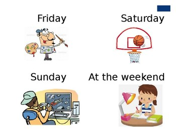 Hobbies and Days of the Week (ESL/EFL PowerPoint)