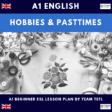 Hobbies and Pastimes A1 Beginner Lesson Plan For ESL