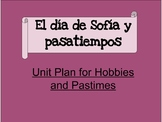 Hobbies and Pastimes Unit Plan