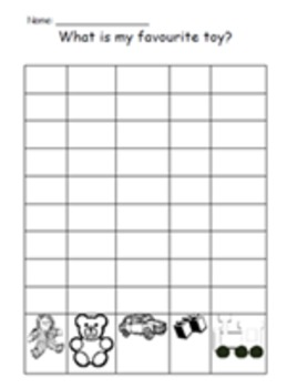 Hobbies - graphing of favourite toys, after school activities and sports.