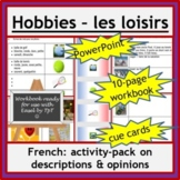 French Immersion or Core French - loisirs, hobbies: wkbk,