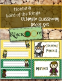 Hobbit & Lord of the Rings ULTIMATE CLASSROOM DECOR SET
