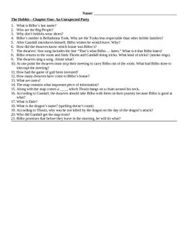 Hobbit Quizzes