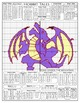 Hobbit Tales - Smaug the Dragon Coordinate Plane Graphing Activity