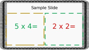 Hobble Gobble : Multiplication (Facts 2, 5, 10)-Lightning Game 3