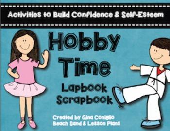 Hobby Time Lapbook Scrapbook: Activities to Build Self-Est