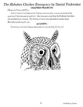 Hoboken Chicken Emergency Literature Guide