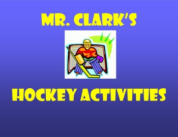 Hockey Activities