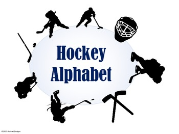 Hockey Alphabet (Word Wall Tags)