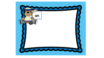 Hockey Bears Word Family Sorts Now With 30 Word Families