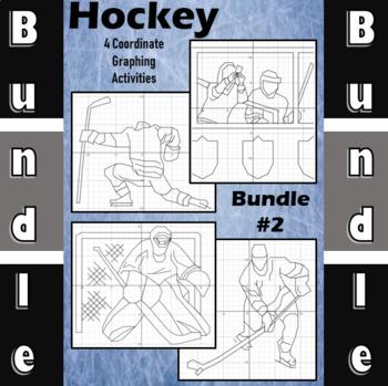 Hockey Bundle #2 - 4 Coordinate Graphing Activities