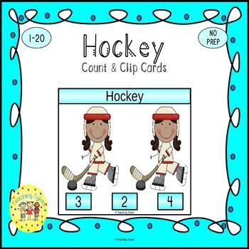 Hockey Task Cards