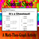 It's a Shootout - A Math-Then-Graph Activity - Solve 30 Systems