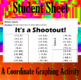 It's a Shootout - A Coordinate Graphing Activity