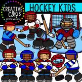 Hockey Kids {Creative Clips Digital Clipart}