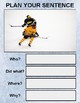 Hockey Picture Prompt Writing (Google Classroom)
