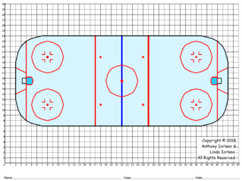 Hockey Rink Mystery Coordinate Picture