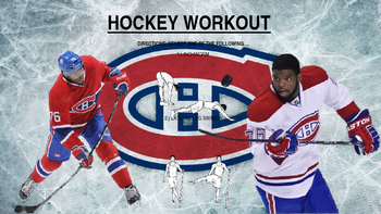 Hockey Specific Fitness Signs