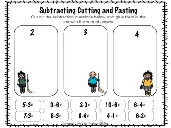 Hockey Subtraction