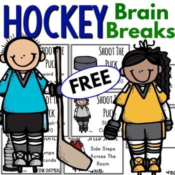 Hockey Themed Brain Breaks