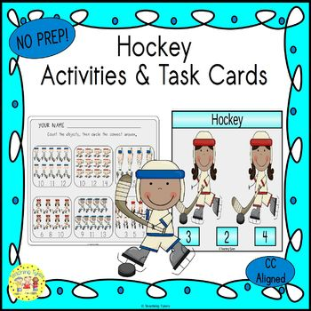 Hockey Worksheets Activities Games Printables and More