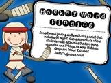Hockey Word Finding