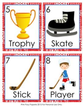 Hockey Write the Room Activity