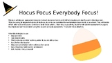 Hocus Pocus Everybody Focus! Impulse Control Social Skills Activity