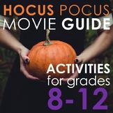 Hocus Pocus Movie Activities - Creative Writing Fun!
