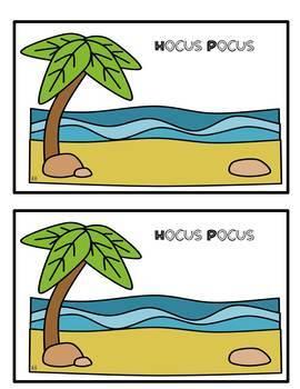 Math Story Boards~Beach