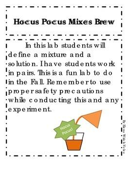 Hocus Pocus Mixes Brew