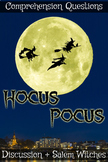 Hocus Pocus Movie Guide + Activities (Color + B/W) - Answe