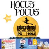 Hocus Pocus Movie Guide | Questions | Worksheet (PG - 1993)