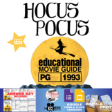 Hocus Pocus Movie Guide | Questions | Worksheet (PG - 1993)