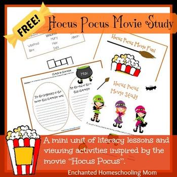 Hocus Pocus Movie Study