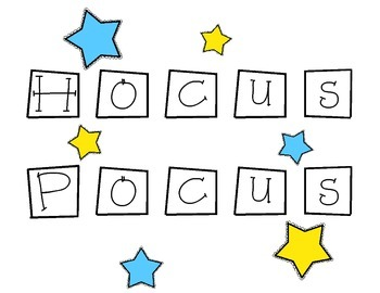 Hocus Pocus Objectives