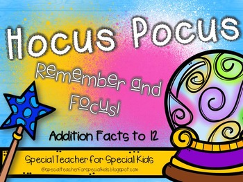 Hocus Pocus.... Remember and Focus (Math Fluency)