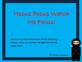 Hocus Pocus Watch Me Focus