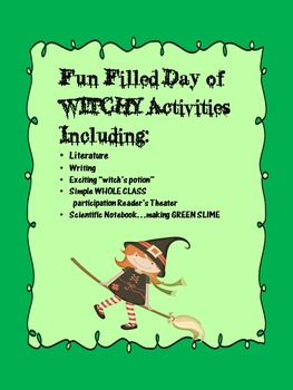 "Hocus Pocus...Halloween ""Witchy""  Activities for a FUN FILLED Day"