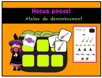 Hocus pocus:  atelier de dénombrement