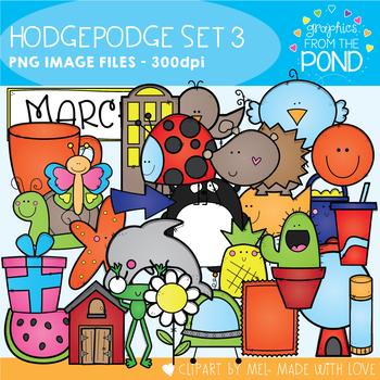 Hodgepodge Clipart Set #3