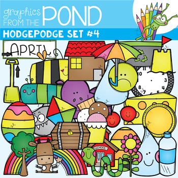 Hodgepodge Clipart Set #4