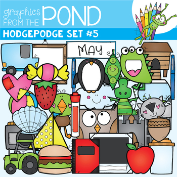 Hodgepodge Clipart Set #5