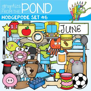 Hodgepodge Clipart Set #6