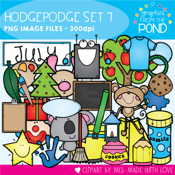 Hodgepodge Clipart Set #7