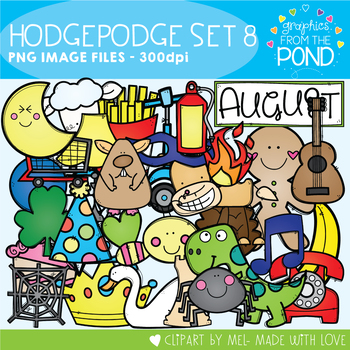 Hodgepodge Clipart Set #8