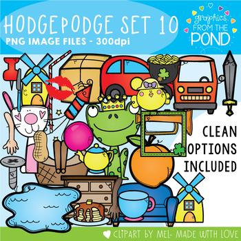Hodgepodge Clipart Set #10
