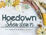 Hoedown Showdown: Elementary Music Concert