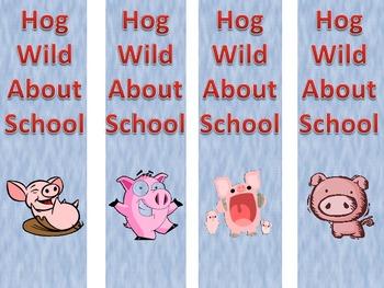 Hog Wild About School